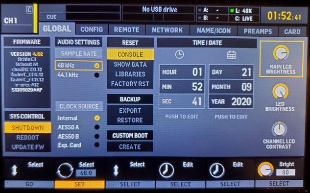 X32 44.1k 48k